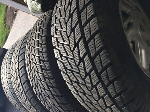 Winter Tires and Rims 265/75/R15