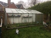Green house for sale 16x 6.6