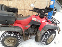 PIECES suzuki quad runner 500 quad master 2000
