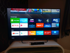 """43"""" SONY ANDROID SMART TV WIFI APPS REMOTE WE DELIVER"""