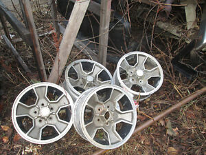 old chev rims