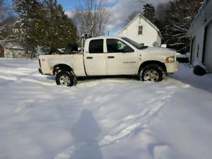 2003 4.7l 4x4 plow truck