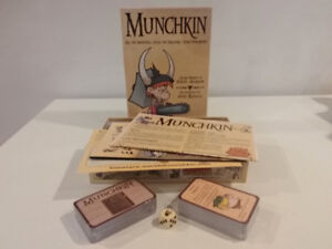 Munchkin boardgame - Unplayed & still in wrapping