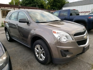 2012 CHEVROLET EQUINOX LS SAFETY AND E-TESTED
