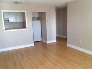 Oct - Large 1bd, New Kitch, Heat Incl, Secure Bldg, Central!