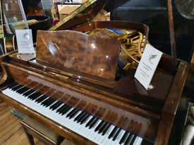 Bluthner style 6 grand piano mahogany polyester for sale