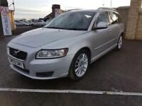 VOLVO V50 1.6D SE LUX, £20 ROAD TAX, 1 FORMER KEEPER