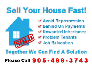Get Cash Fast for your Oshawa house! Call Me now!!