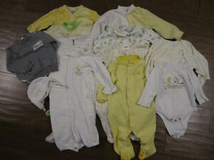 Gender Neutral Baby Lot - Size 9 Months