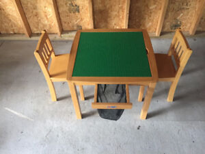 Children's Lego Table and Chairs