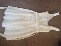 New look size 8 white summer dress