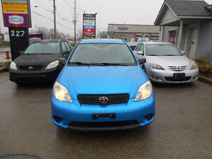2008 Toyota Matrix Wagon. NO Accidents Reported