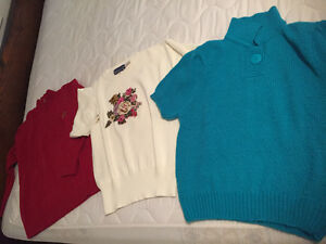 Various sweaters $5 each or $20 for all