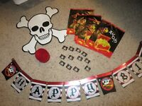 Pirate themed Bday decorations