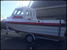 Icelander 18 hull and trailer only