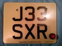 J33 SXR FOR GSXR NUMBER PLATE,NOT END CAN,SPORTS PANNIERS OR REAR SETS