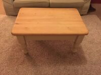 High quality wooden coffee table.