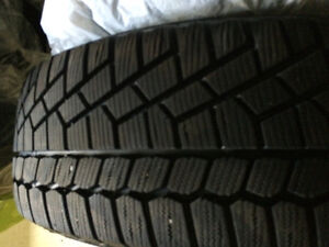 Winter Tires with Alloy Rims 225/65R16 Sarnia Sarnia Area image 2