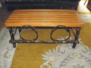 Unique Amish Coffee Table  OBO Peterborough Peterborough Area image 1