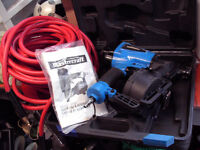 Coil Roofing Nailer & Air Hose