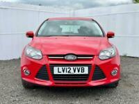 2012 Ford Focus 1.0 EcoBoost Zetec 5dr HATCHBACK Petrol Manual