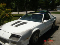 86 IROC Z T-TOP....GREAT PROJECT...TRADE FOR SKIDOO REV