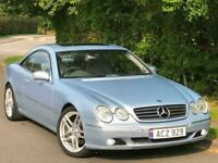 "Mercedes-Benz CL500 5.0 V8 Coupe Automatic 2000 X Reg 76k FSH 19""Alloys Sunroof"