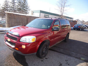 2005 Chevrolet Uplander 6cl Minivan, Van Comes With Sefety & E T