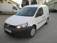 2013 Volkswagen Caddy 1.6TDI 102PS C20 diesel 1 owner pas sld cd stereo
