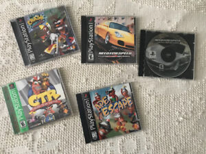 Group of PS 1 games