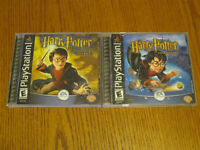 PLAYSTATION 1 GAMES (LOT OF 2) - HARRY POTTER