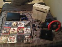 PS3 -12 GAMES - 2 CONTROLLERS FOR SALE