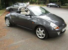 **PX BARGAIN**Ford Streetka 1.6 Luxury Convertible**Fully Loaded**MOT May 18**