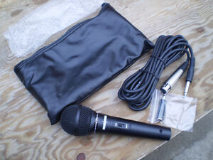 MICROPHONE AND CASE $20.
