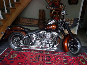 CUSTOM HARLEY DAVIDSON SOFTAIL SHOW BIKE