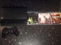 PS3 Slim 500GB + Alien Isolation + Assassins Creed II
