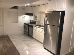 Stunning 1 Bedroom Basement Apartment for Rent