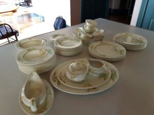 Antique Table Setting
