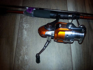Bill Dance Quantum Spinning Reel/Rod Combo w/Spiderwire