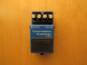 BOSS Compression Sustainer CS-3 Pedal