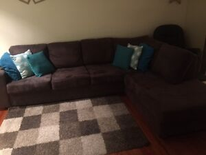Sofa with chaise Beaumaris Bayside Area Preview