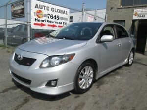 Toyota Corolla MANUELLE,4 CYL.,1.8L,MAGS,A/C,AUX 2009