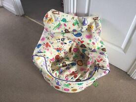 Kids bean seat, animal printed