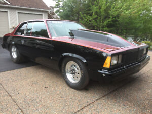 1981 Malibu drag car - **reduced - will sell as roller