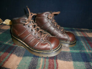 "Woman's Leather ""Doc Marten"" Hiking Boots"
