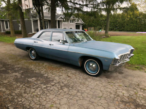 67 bel air 4 door post