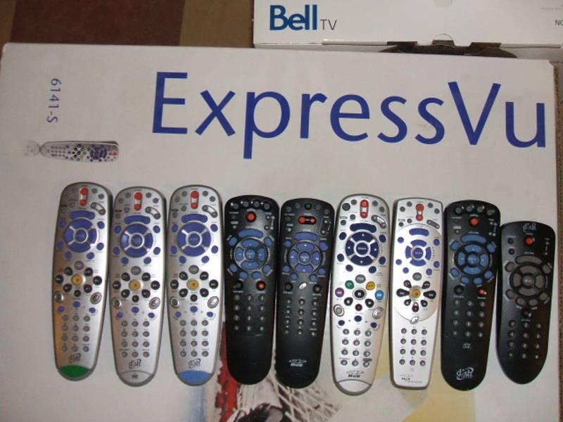 Bell Tv Remote Controls Expressvu Electronics