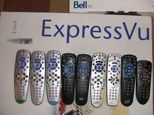 Bell TV Remote Controls ExpressVu Peterborough Peterborough Area image 1
