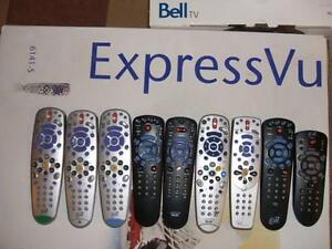 Bell TV Remote Controls ExpressVu