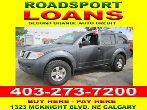 2012 NISSAN PATHFINDER 7 PASS BAD CREDIT OK $29 DN OAC